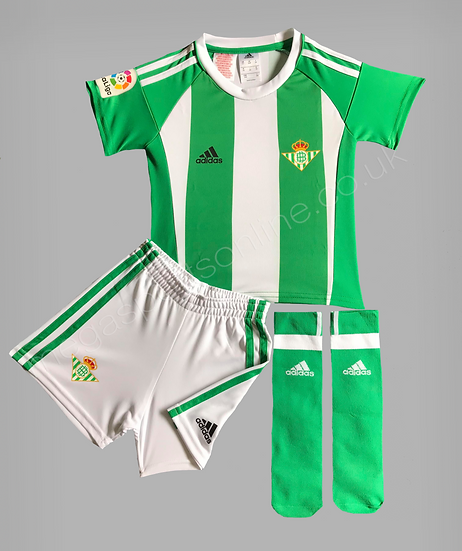 Adidas Real Betis Home FULL Kit in presentation box