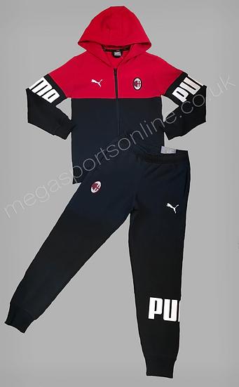 PUMA AC Milan Hooded Fleece Tracksuit