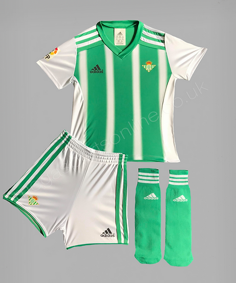 Adidas Real Betis Home FULL Kit in presentation box