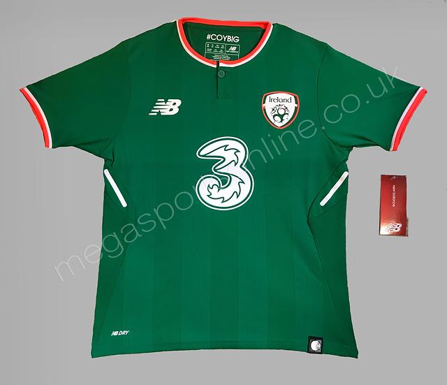 New Balance Rep of Ireland Home Shirt