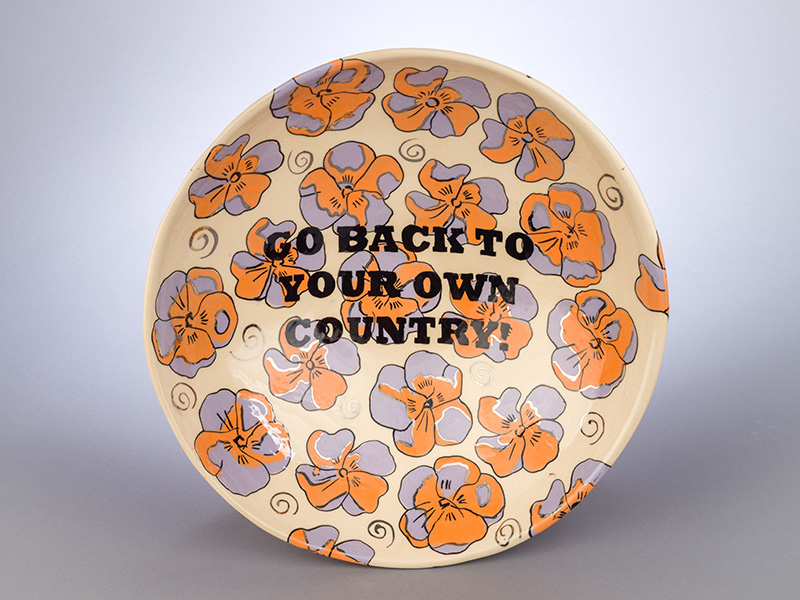 Go back to your own Country, by Judy Chartrand (2016).