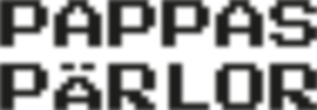 Pappas Pärlor Logo Pixel Art