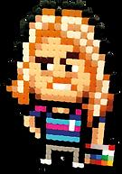 Johan Karlgren pappas pärlor Parlor pixel art
