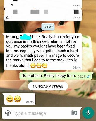 A Level Mathematics Testimonial