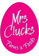 Mrs Clucks Farms logo