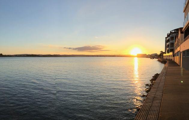 Sunsetting in Ballina, NSW