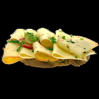 Brot mit Käsevariationen