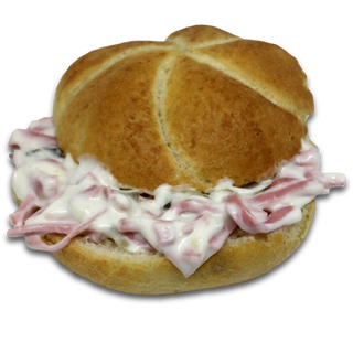 Wurst-Mayonnaisesemmel