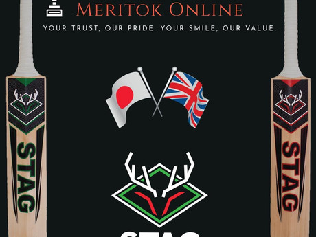 MERITOK ONLINE JOINS HANDS WITH STAG CRICKET!