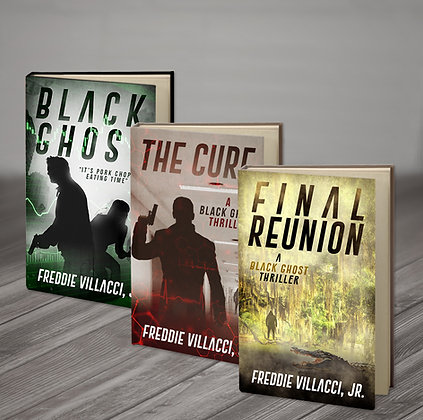 Black Ghost, The Cure and Final Reunion - Signed Paperbacks