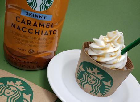 Starbucks Caramel Macchiato Cupcakes