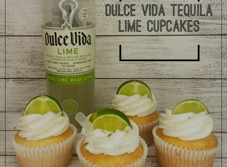 DULCE VIDA TEQUILA LIME CUPCAKES