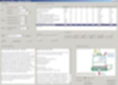 Filter Design Software - Equipment selection screen