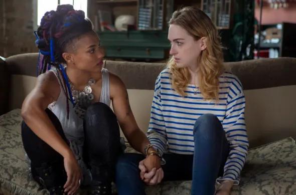 Freema Agyeman and Jamie Clayton in Sense8 / Netflix