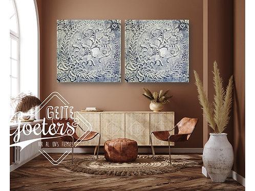 2021 Steel/Wood Pattern - Set of 2