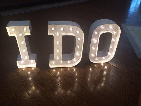 20cm Light Up Letter