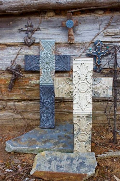Pressed Ceiling Cross