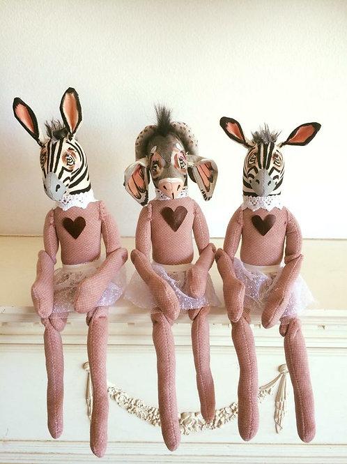 Zebra Soft toy decor