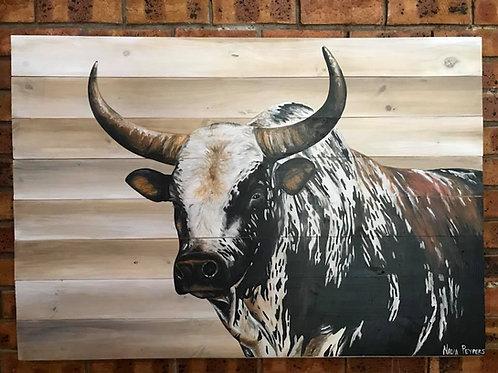 Singles: Bull Dark side painted
