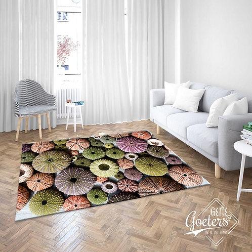 Ocean greens rug