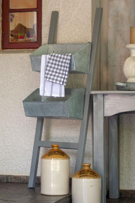 Ladder with 3 shelves