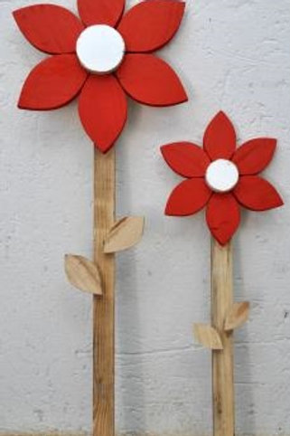 Reuse Hout BLOMME - Small