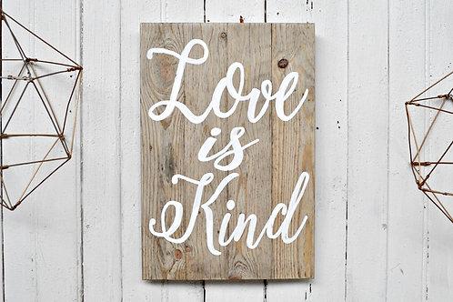 Die liefde is/Love is (Medium)