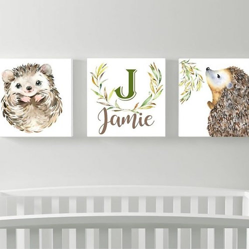 2020 Baby wood Prints - Jamie design