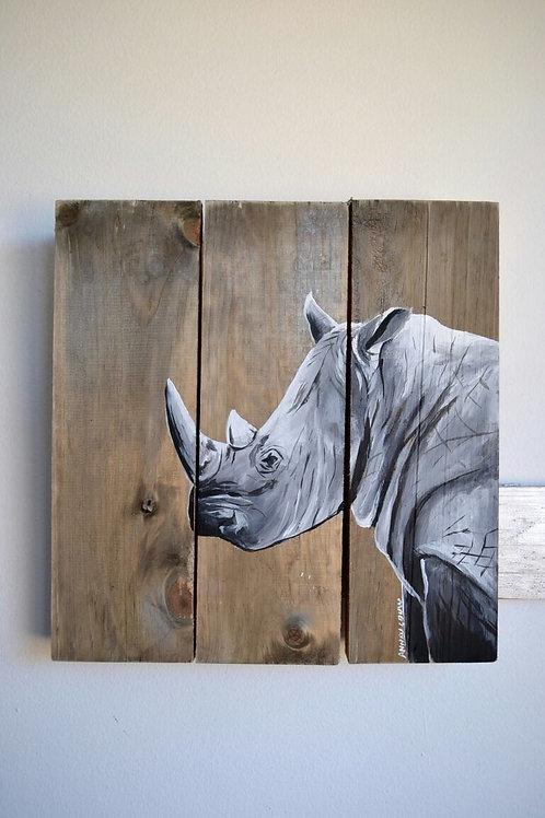 Medium Large Rhino Trio