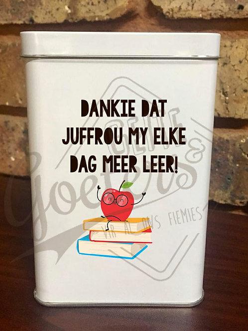 Juffrou Blikkies Afrikaans - New designs