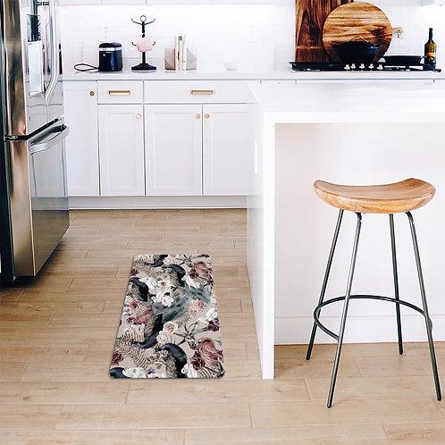 2021 Floral range kitchen mat
