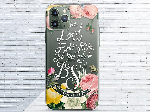 Phone Case Cover: The Lord Quote case Case Pink peonies