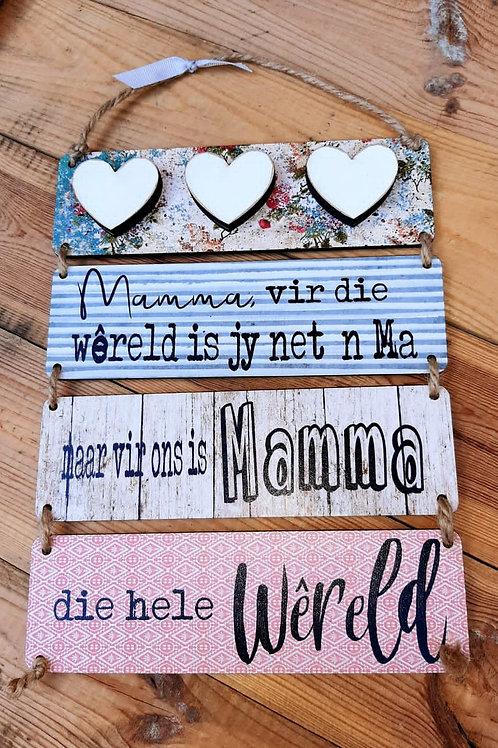 Mamma vir die wereld