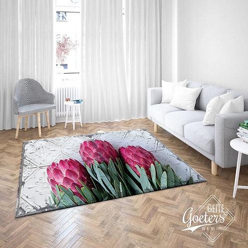 Protea Pink Trio rug