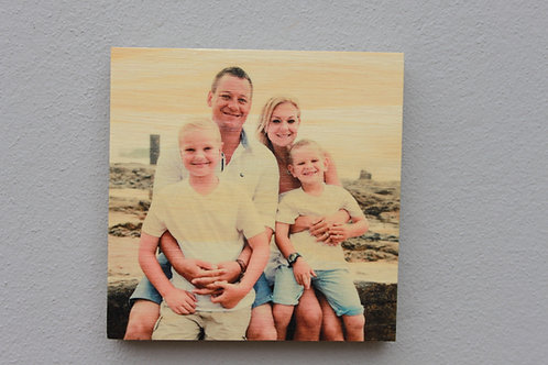 Small: Photo on wood/Foto op hout