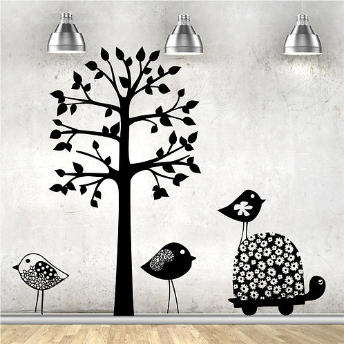 Funky Trees & Animals