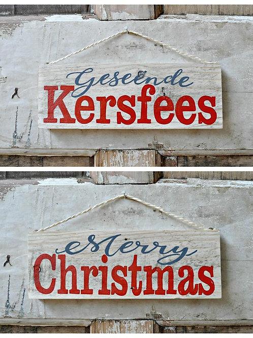 Kersfees teken / Christmas Signs