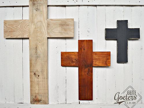Wooden Cross/Hout Kruis (Medium)