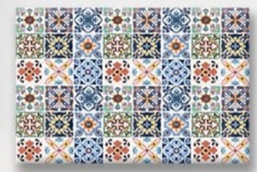 2020 Spanish Colours Set of 4 Placemat