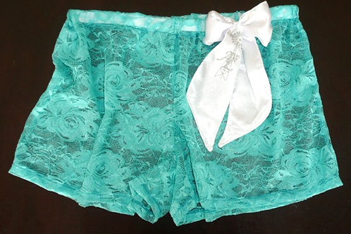 Lace + bow boxers