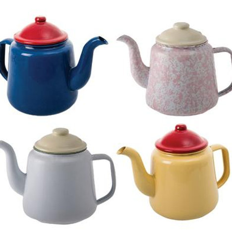 Tea Pot 14cm Enamel