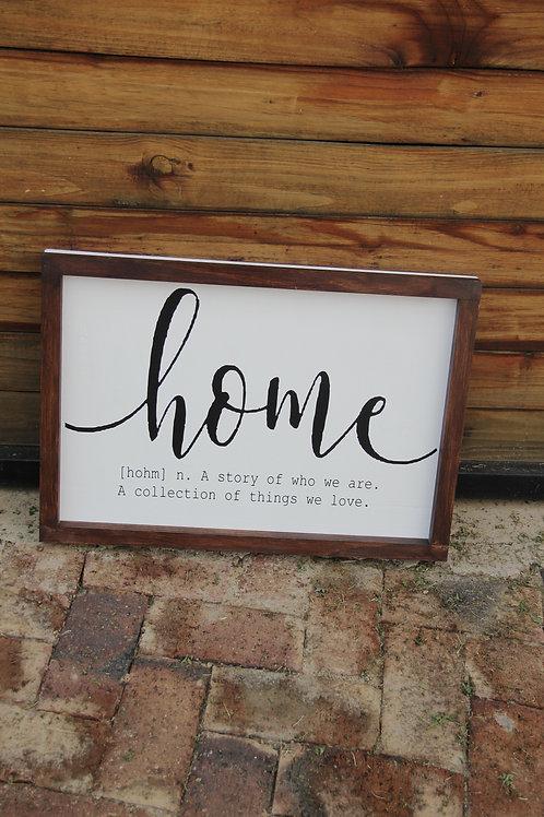 Home/Huis