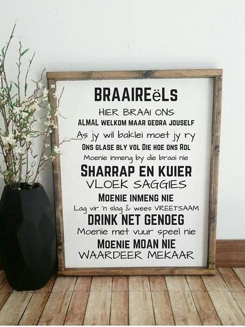 Special: Braaireels