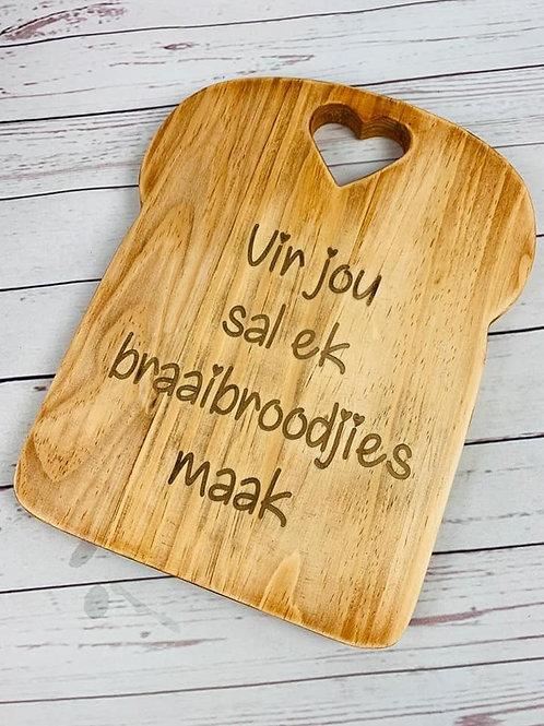Braaibroodjie Bord