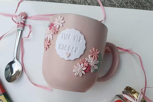 Clay mug Custom