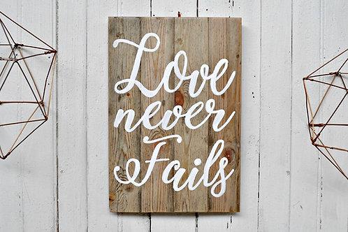 Die liefde is/Love is (Large)