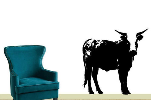 Large Nguni Cow Vinyl Sticker