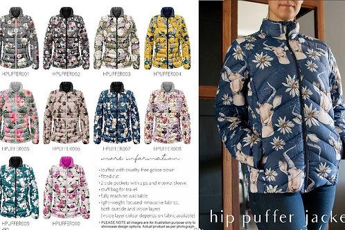 Hip puffer jacket