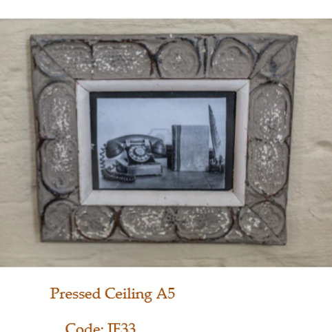 Pressed Ceiling A5  JF 33