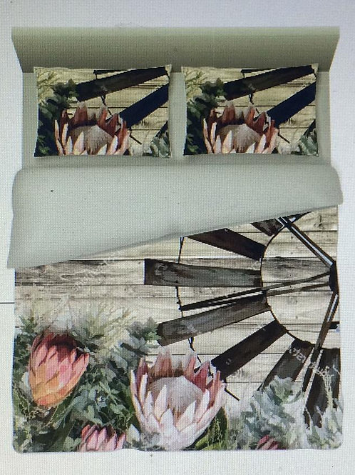 Bedding Protea and windmill 2